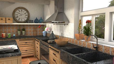 comptoir de cuisine maison du monde projet cuisines cocina pagnol 2 by lidiale