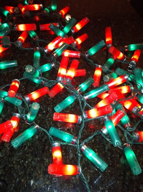 these are awesome shotshell christmas lights 100 light