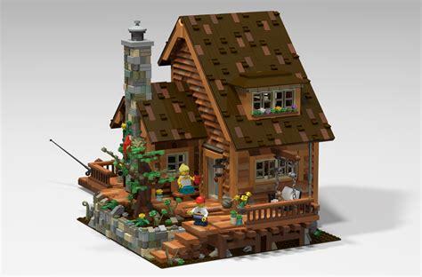 Kitchen Fireplace Ideas - lego ideas lake house