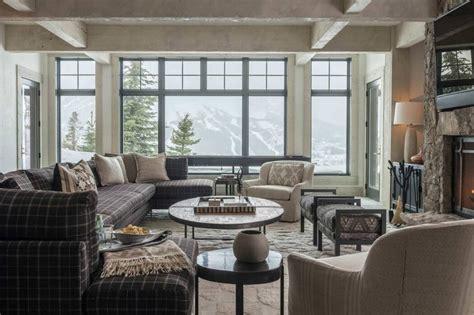 rustic mountain house  zen interiors cashmere interior