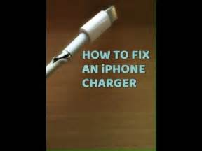 how to fix an iphone charger how to fix a broken iphone charger iphone lightning How T