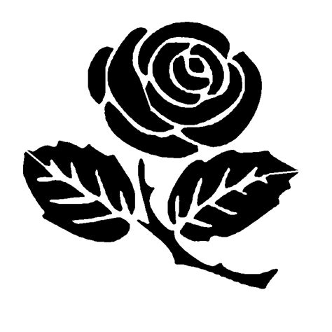 rose stem stencil sp stencils