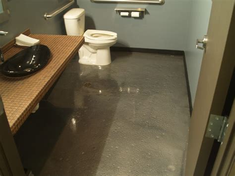 epoxy flooring in bathrooms metallic epoxy