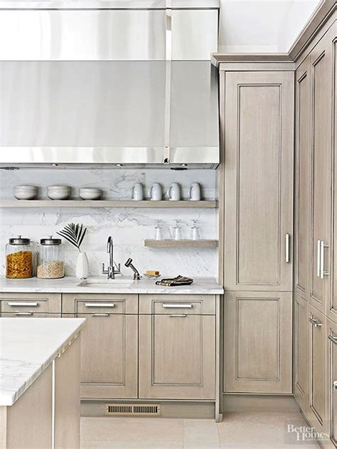 17 best ideas about gray stained cabinets on