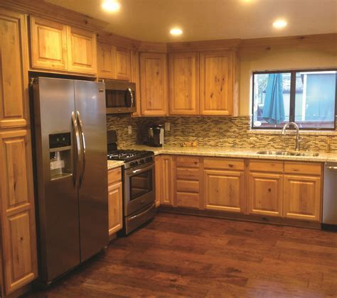 Furniture. Rustic holic Accent Kitchen With Knotty Wood