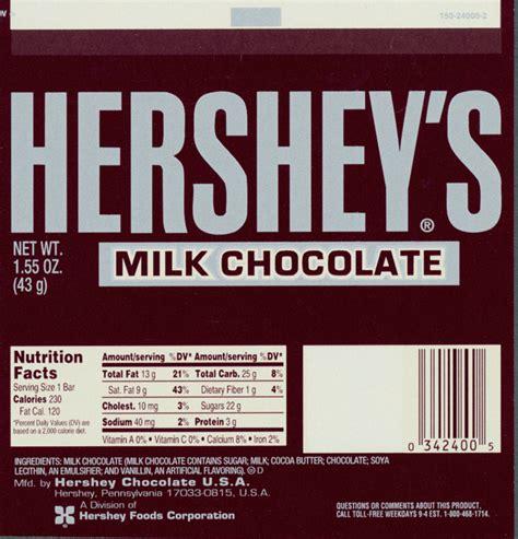 Hershey Labels Template by Bar Wrapper Design West Mifflin Area School District