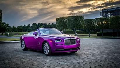 4k Royce Rolls Dawn Fuxia Wallpapers 2160