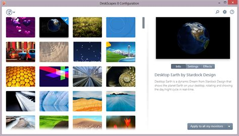 Stardock Deskscapes Animated Wallpaper - animated wallpapers for windows 8 with deskscapes 8