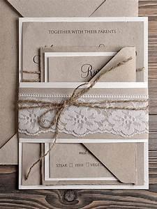 Natural recycling paper wedding invitation country style for Country style wedding invitations australia
