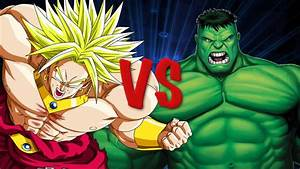 Hulk vs Broly [THE RAP BATTLE] - YouTube