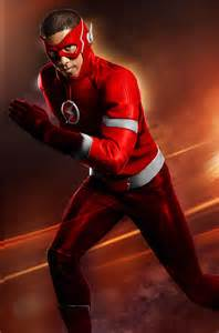 CW Wally West Flash Suit