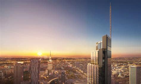 varso tower awarded   core shell precertification  europe hb reavis