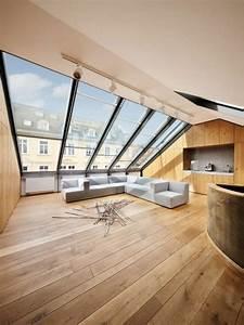 Lucarne De Toit Velux : la fen tre de toit en 65 jolies images maison pent house attic loft et attic design ~ Melissatoandfro.com Idées de Décoration