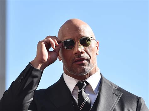 dwayne johnson opens   depression   crying