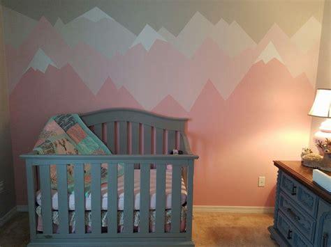Baby Girl Mountain Nursery  Baby Kenley Pinterest