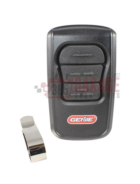 Genie Gm3t Garage Door Opener Remote 3 Button