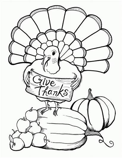Thanksgiving Coloring Preschool Printables Popular