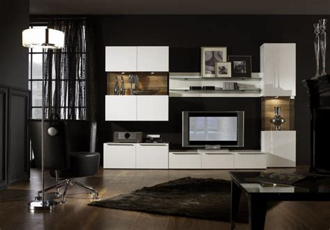 Black Living Room Wall Units by Breathtaking Mind Blowing House With Interior