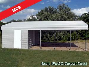 Garage Und Carport Kombination : large metal carport combo with shed 18 39 x 31 39 x 7 39 mc9 barn shed carpot direct metal ~ Sanjose-hotels-ca.com Haus und Dekorationen