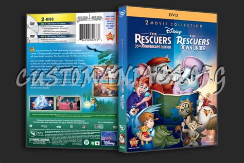 The Rescuers / The Rescuers Down Under Dvd Cover