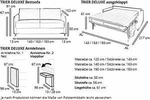Schlafsofa Mit Separater Matratze : schlafsofa mit matratze und lattenrost trier deluxe von sofaplus ~ Sanjose-hotels-ca.com Haus und Dekorationen