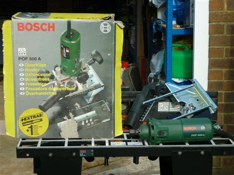 bosch pof 500a router rt 60 router table in haywards heath west sussex gumtree