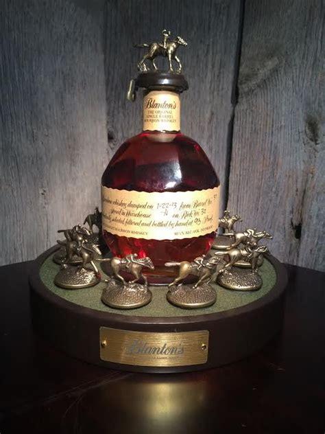 blantons bourbon bottle glorifier display  blanton