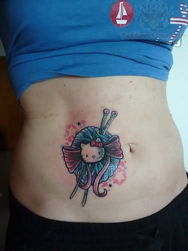 crochet tattoo images designs