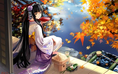 Anime Geisha Wallpaper - geisha anime wallpapers hd wallpapers id 9721