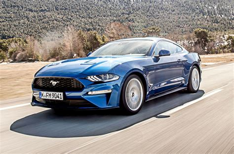 ford mustang  ecoboost fastback automatic  review