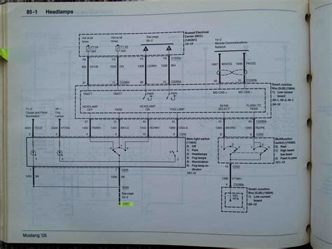 Headlight Wiring Diagram Ford Mustang Forum