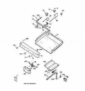 Assembly View For Gas  U0026 Burner Parts