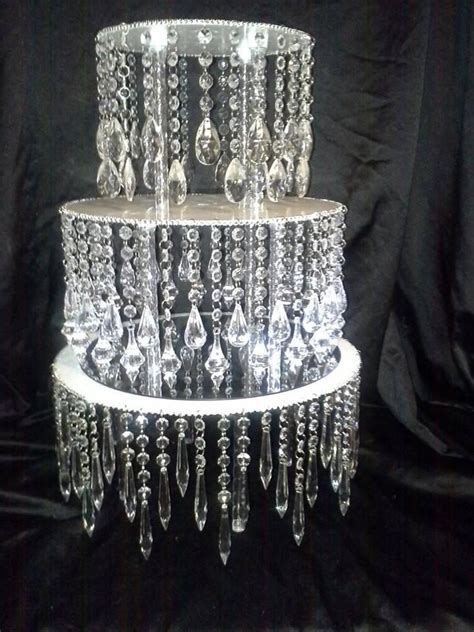 chandelier  stand unique cake stands