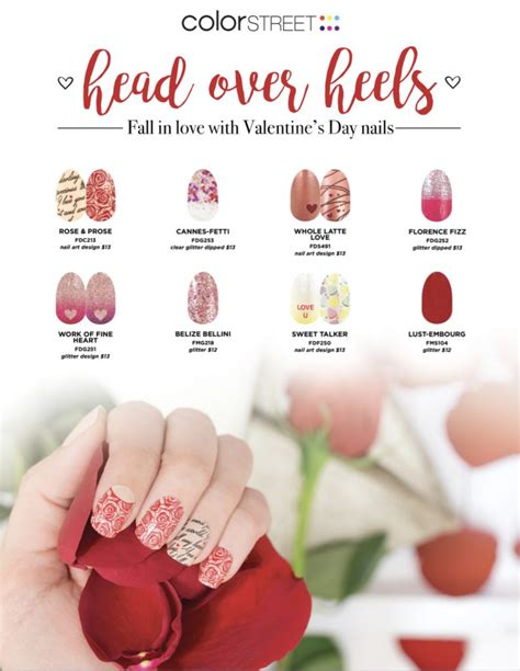 Color Street Valentine Nails • Keeping it Simple