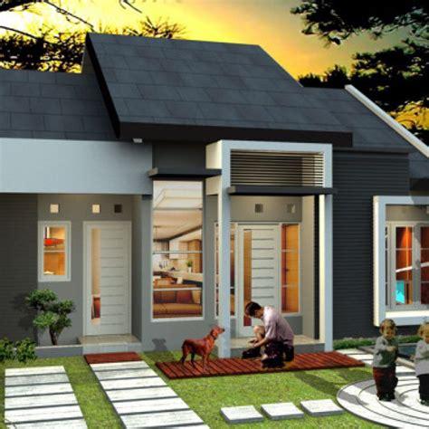 ini dia rumah minimalis type 45 modern paling dicari 2019