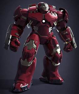 Age of Ultron Concept Art Features Hulkbuster, Mark 45 ...
