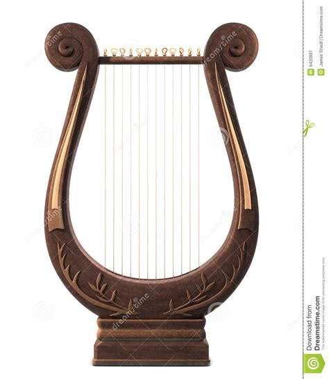 lyre royalty free stock photography image 9420997