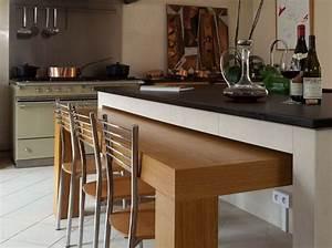 Petit Bar Cuisine : am nagement bar cuisine cuisine en image ~ Teatrodelosmanantiales.com Idées de Décoration