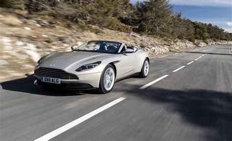 2019 Aston Martin Db11 by 2019 Aston Martin Db11 Volante Drive Review Car