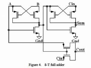 integrated circuit 8 transistor full adder electrical With 8 bit adder circuit