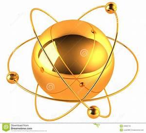 Gold Atom Stock Illustration  Illustration Of Medicine