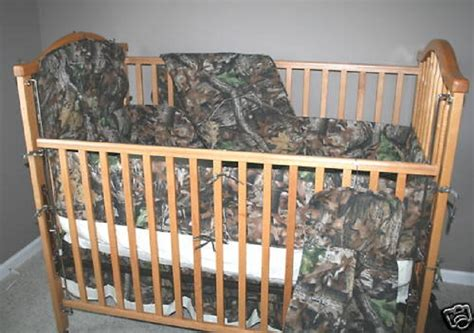 Realtree Camo Baby Bedding by True Timber Camo Baby Crib Set