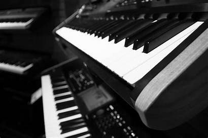 Piano Keyboard Notes Keys 4k Pianos Musik
