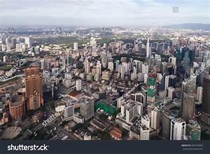 Kuala Lumpur Malaysiajanuary 7 2017 Aerial Stock Photo ...