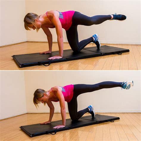 dog dirty leg kicks exercises single squats bridge