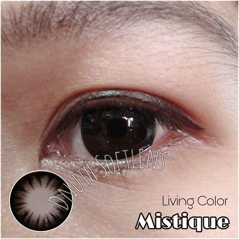 review living color mistique black dnuth softlens center