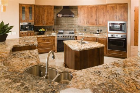 Marble countertops picture   ImprovementCenter.com