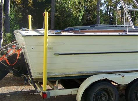 Boat Trailer Chine Load Guides by Installing Pontoon Trailer Post Guides Page 1 Iboats