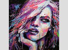 Unique artwork Colorful from the artist Graffmatt, Street