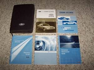 2006 Ford Crown Victoria Operator Owner User Manual Police Interceptor Lx Sport